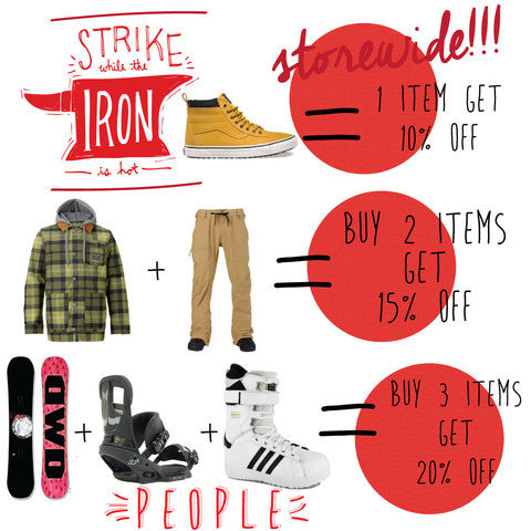Strike While The Iron Is Hot Sale