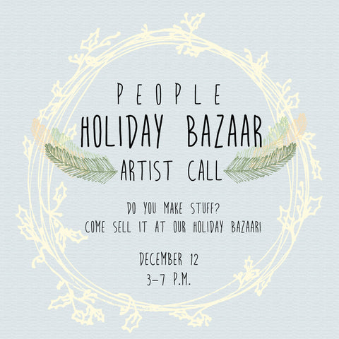 Holiday Bazaar Artist Call