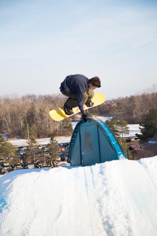 Dominic Palarchio Handplant on rainbow