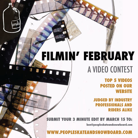 Filmin' February 2014: A snowboard video contest