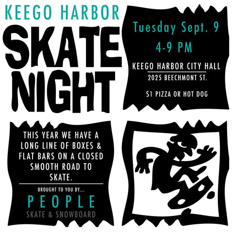 Skate Night Keego Harbor