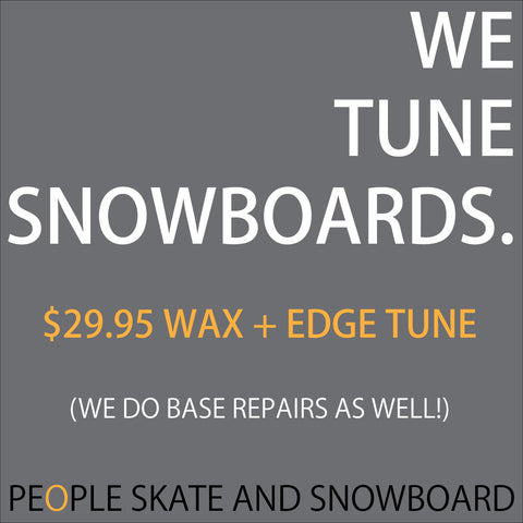 Yes! We do wax snowboards (and skis)