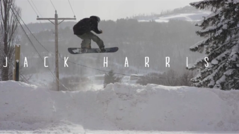 Jack Harris Full Part by Snowboarder Mag