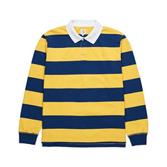 Polar Skate Co x Dear Block Stripe Polo Long Sleeve Tee