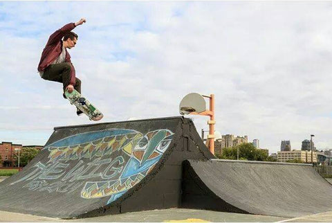 "Crowdfund to expand ""The Wig"" DIY skatepark in midtown Detroit"