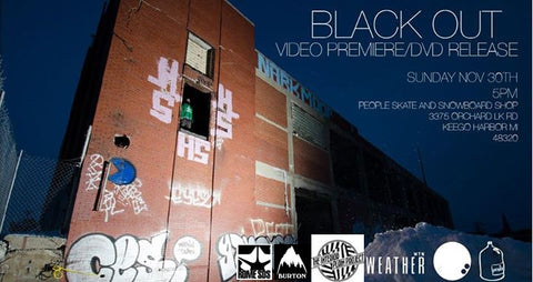 """Black Out"" Snowboard Video Premiere by Scott Smith"