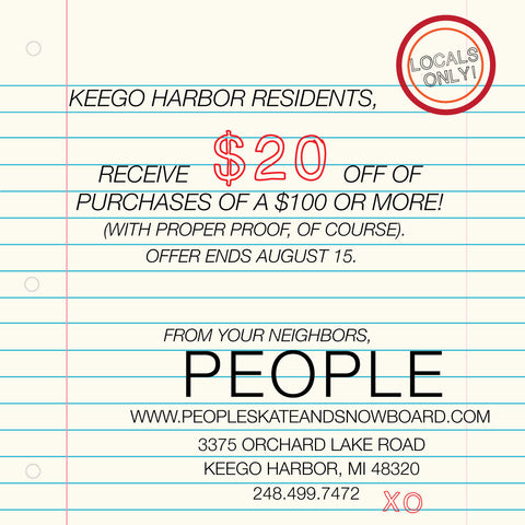 Keego Harbor and Sylvan Lake Locals Only Deals