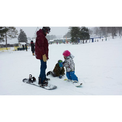 Snowboarding For The Kids