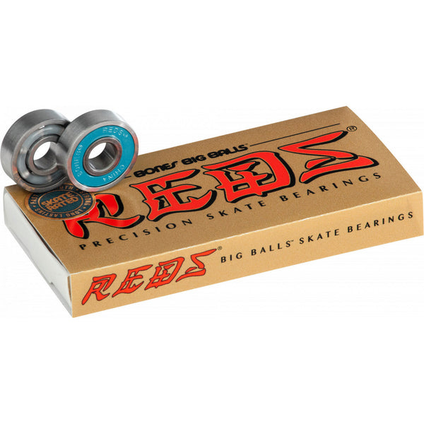 Bones Reds Big Balls Bearings - People Skate and Snowboard