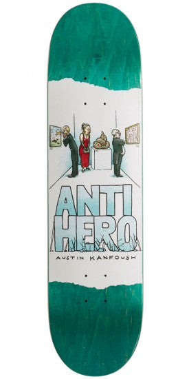 Anti Hero Kanfoush Expressions Deck - People Skate and Snowboard