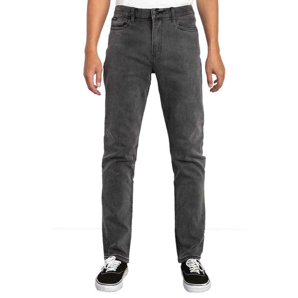 RVCA Daggers Slim Straight Fit Denim Jeans  - People Skate and Snowboard