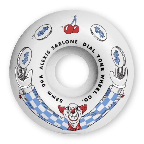 Dial Tone Wheel Co. Sablone Wisecracker Wheels 99a - People Skate and Snowboard