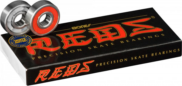 <p>Bones Reds bearings</p> - People Skate and Snowboard