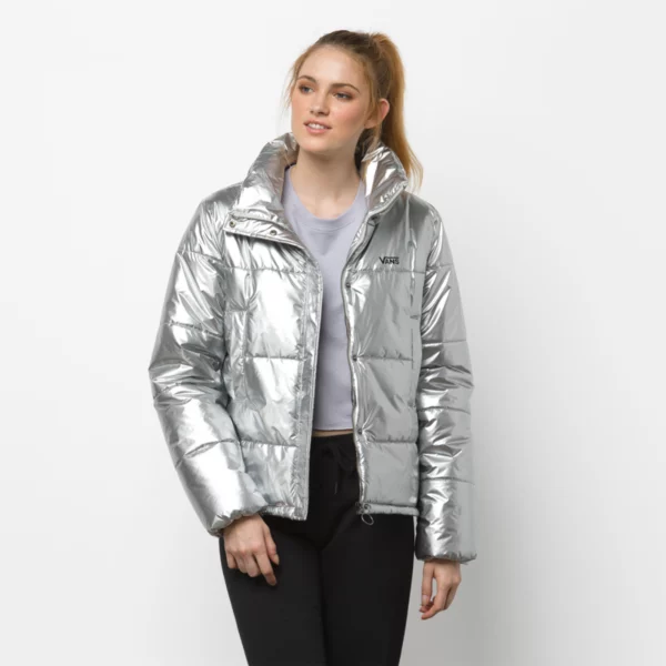 Vans Women's Galatic Spiral Metallic Jacket - People Skate and Snowboard