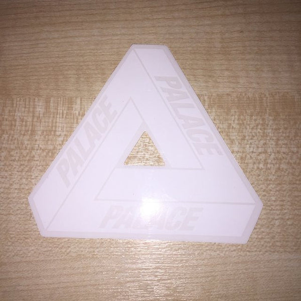 "Palace Tri Ferg 4"" Sticker white - People Skate and Snowboard"