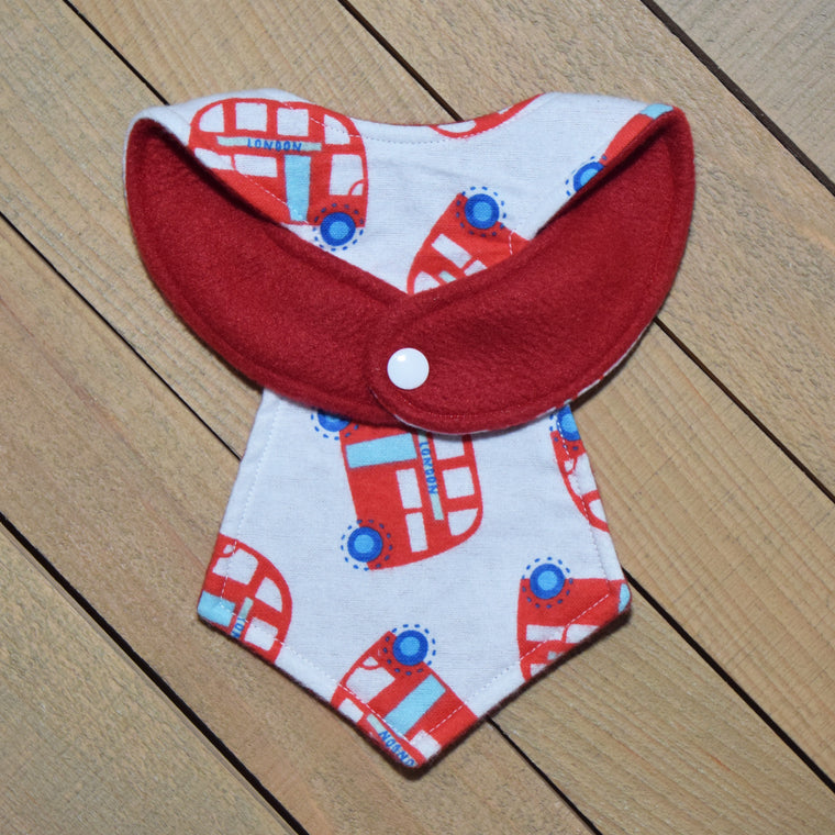 London Baby Necktie Bib