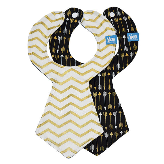 Kinderbib Baby Necktie Bib Arrows Set