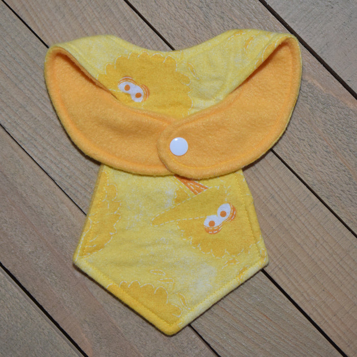 Big Bird Sale Baby Necktie Bib Back