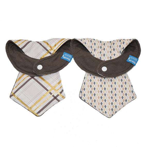 Kinderbib Baby Necktie Bib Business Duo Set