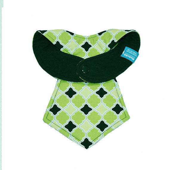 Kinderbib Baby Neck Tie Bib Diamonds Baby