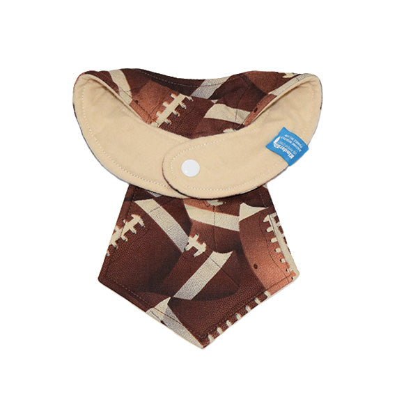 Kinderbib Baby Neck Tie Bib Football Back