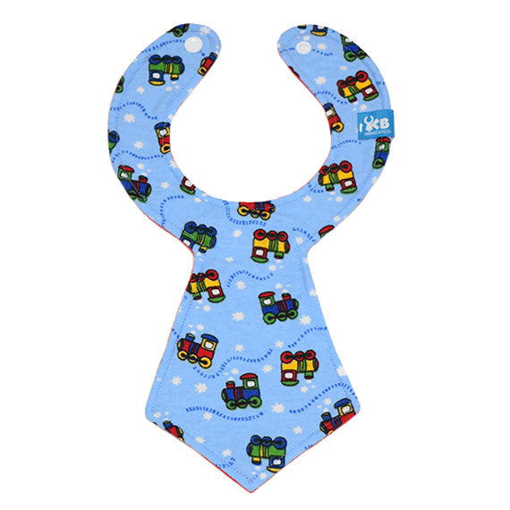 Train Baby Necktie Bib