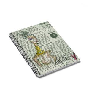 Strong Woman Spiral Notebook