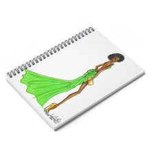 Load image into Gallery viewer, Black Girl Magic Spiral Notebook