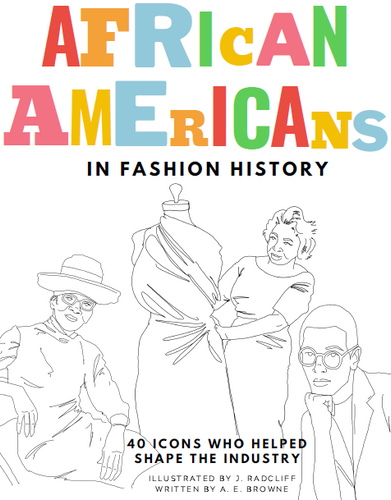African Americans in Fashion History Coloring Book