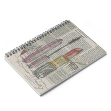 Load image into Gallery viewer, The Definition of Beauty Spiral Notebook