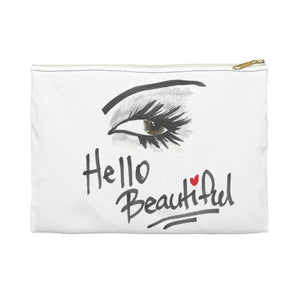 Hello Beautiful Accessory Pouch