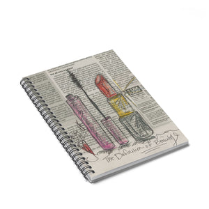 The Definition of Beauty Spiral Notebook