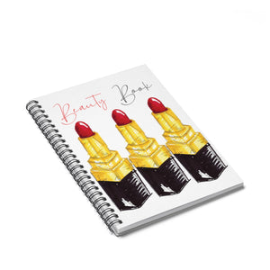 Beauty Book Spiral Notebook