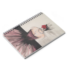 Load image into Gallery viewer, Belle Fleur Spiral Notebook
