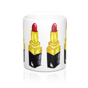 There's Lipstick on My Mug 11oz