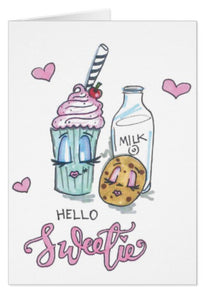 Hello Sweetie Valentine's Card