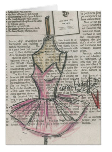 Little Pink Dress / Signature Note Card Collection