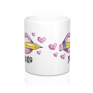 XOXO Pink Lips 11 Oz Mug