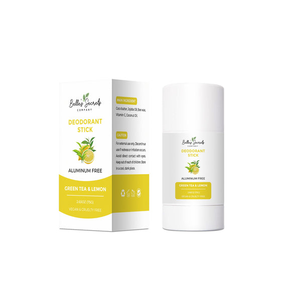 Green Tea & Lemon (Thé vert & Citron) Deodorant