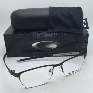 New OAKLEY Titanium Eyeglasses TINCUP 0.5 OX5099-0353 53-18 Powder Pewter Frames