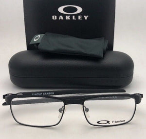 New OAKLEY Eyeglasses TINCUP CARBON OX5094-0154 54-17 Powder Coal-Carbon Fiber