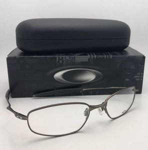 New Metal OAKLEY Eyeglasses WHISKER 6B OX3107-0255 55-18 132 Matte Pewter Frames