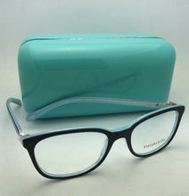 Load image into Gallery viewer, TIFFANY & CO. Eyeglasses TF 2109-H-B 8193 51-17 Black on Blue w/ Crystals+Pearls