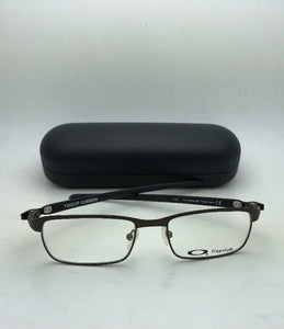 New OAKLEY Eyeglasses TINCUP CARBON OX5094-0250 50-17 Powder Pewter-Carbon Fiber