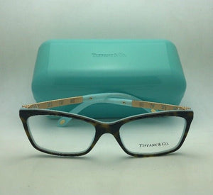 TIFFANY & CO. Eyeglasses ATLAS Collection TF 2103-B 8134 53-16 Tortoise on Blue