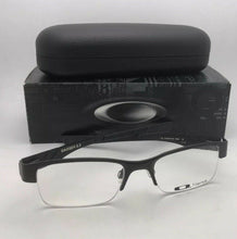 Load image into Gallery viewer, OAKLEY Titanium Eyeglasses GASSER 0.5 OX5088-0152 52-19 Matte Black Semi Rimless