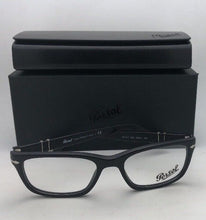 Load image into Gallery viewer, New PERSOL Rx-able Eyeglasses 3012-V 900 52-18 140 Matte Sand Black Frames