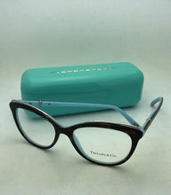 Load image into Gallery viewer, TIFFANY & CO. Eyeglasses TF 2147-B 8134 54-16 140 Tortoise on Blue with Crystals