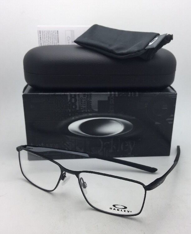 New OAKLEY Eyeglasses SOCKET 5.0 OX3217-0155 55-17 138 Satin Black Frames