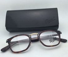Load image into Gallery viewer, New PERSOL Eyeglasses Typewriter Edition 3109-V 24 47-22 Havana Tortoise Frames